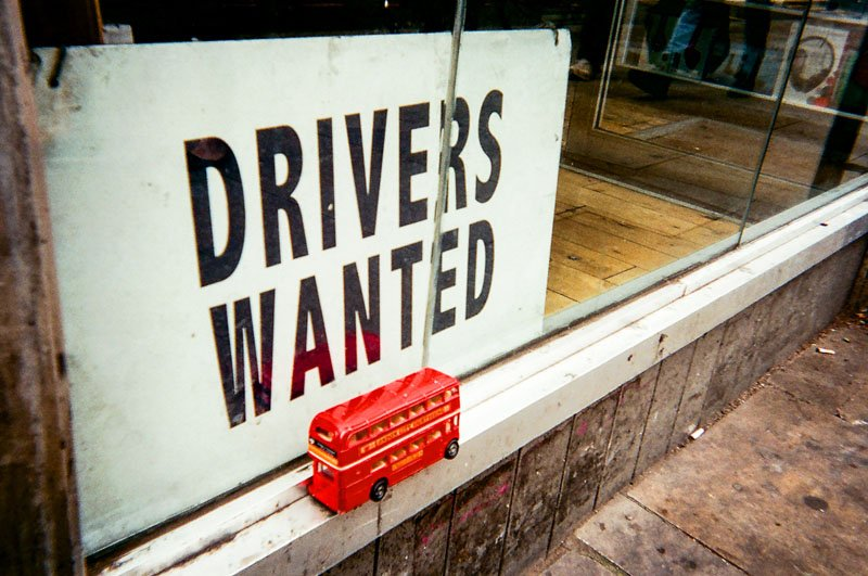Drivers wanted by Richard Fletcher