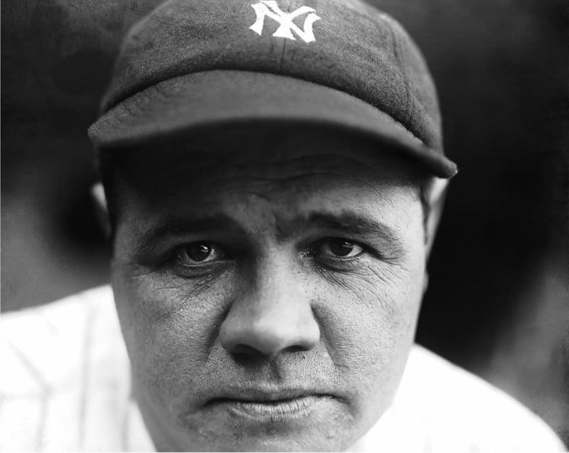 Babe Ruth, 1927 New York Yankees.