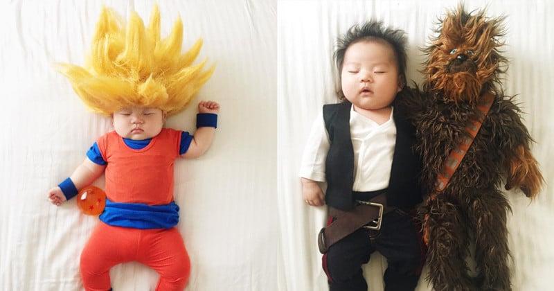 4581d0d1a9e Photographer Shoots Cosplay Photos Starring Her Baby Daughter