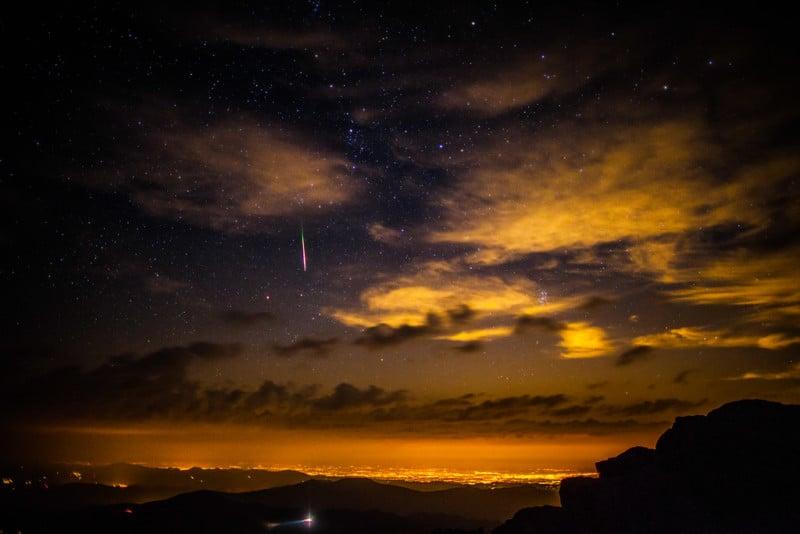 """""""Meteor over Denver Colorado"""""""