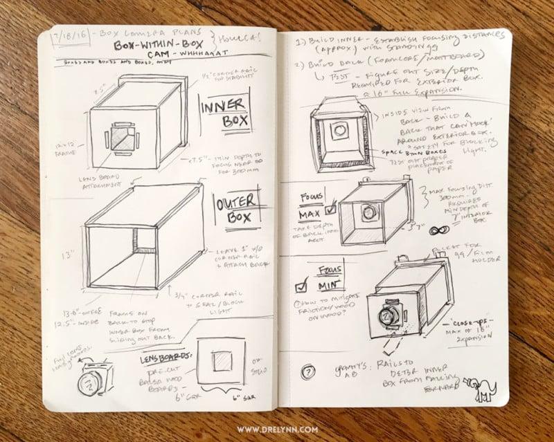 DIY 8x10 Paper Negative Box Camera