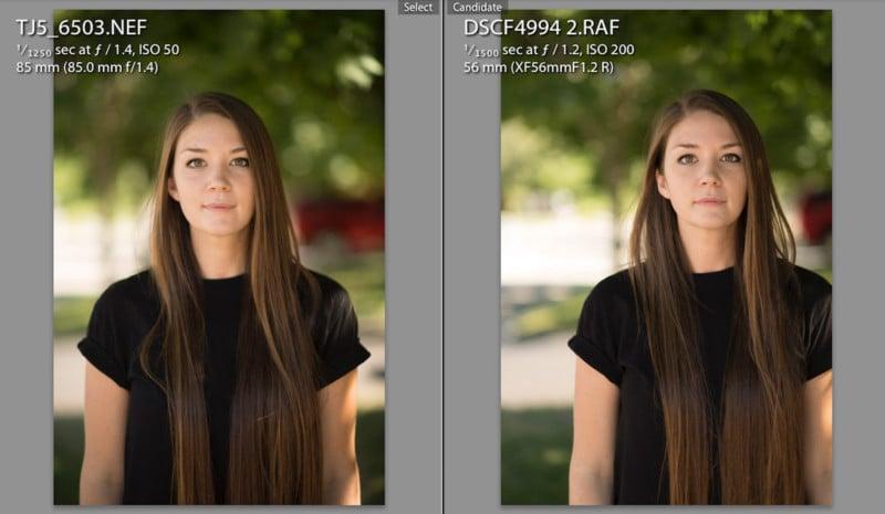 Fuji X-T2 vs Nikon D5 Real World Portrait Test (RAW Files Included)