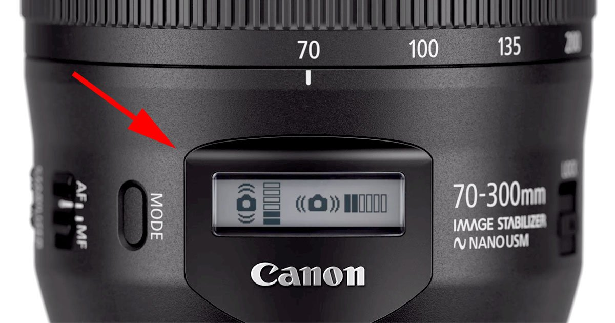 Canons New 70 300mm II Is Its First With An LCD Info Display