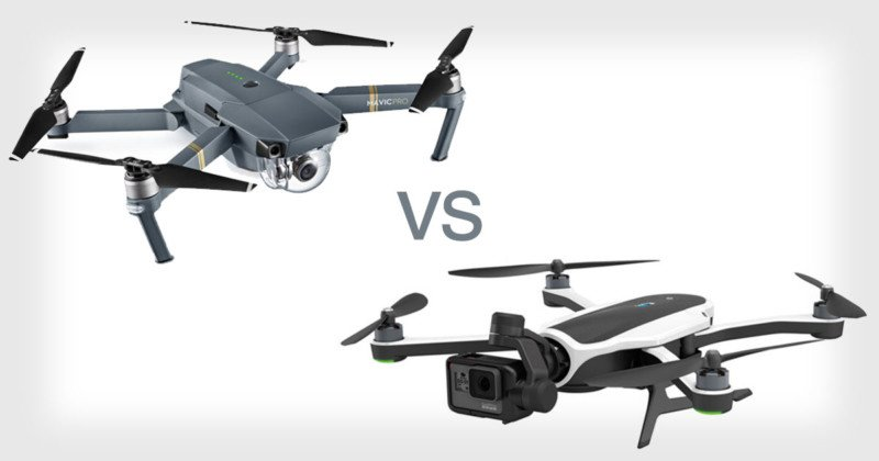 DJI Mavic Pro Vs GoPro Karma How The Drones Specs Stack Up