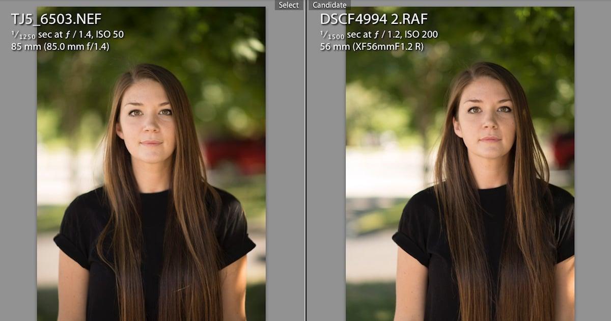 Fuji X T2 Vs Nikon D5 Real World Portrait Test Raw Files