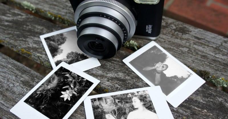 Fujifilm unveils black and white instax mini monochrome film