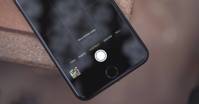 Here's a First Look at Apple's Fake Bokeh 'Portrait' Mode, Available Now