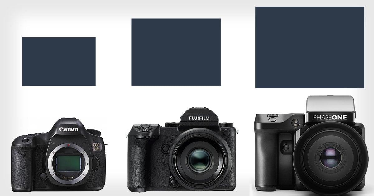 This Is How Fuji S New Medium Format Sensor Size Stacks Up