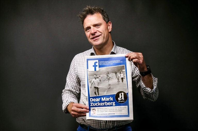 Aftenposten editor-in-chief Espen Egil Hansen