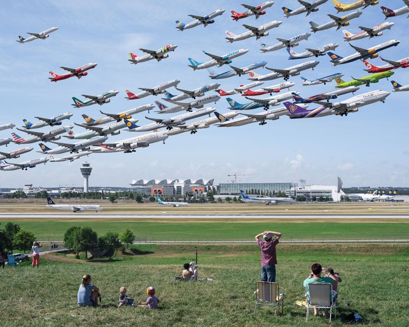 Flughafen München 08R