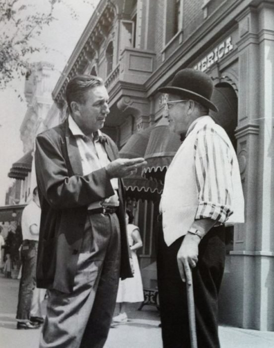 Disneyland Used to Photoshop Out Cigarettes in Portraits of Walt Disney