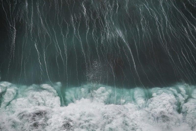 Waves crashing on a rocky beach along the Road To Hana—Maui, Hawaii