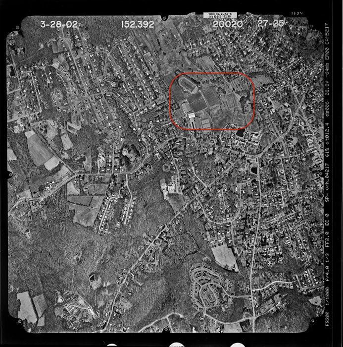 Taft school campus area of detail