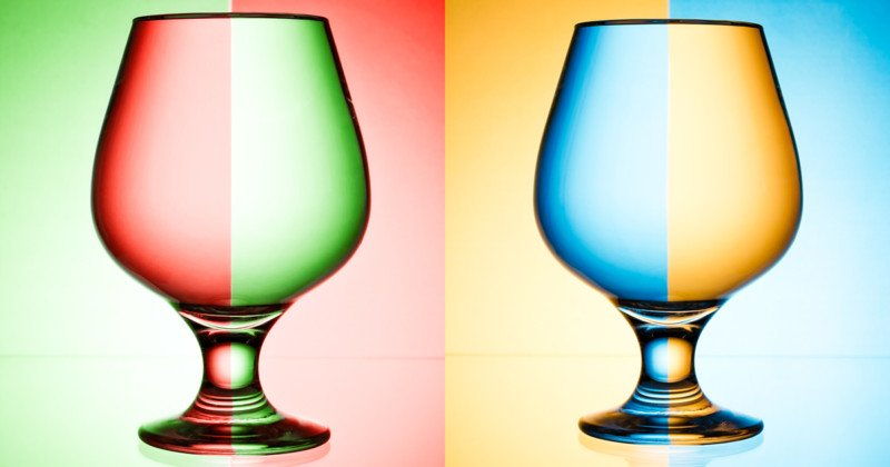 These Creative Water Glass Photos Were Made In-Camera, No Photoshop