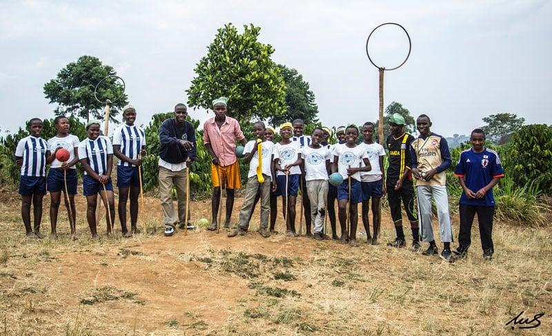 Some Team Uganda's players.