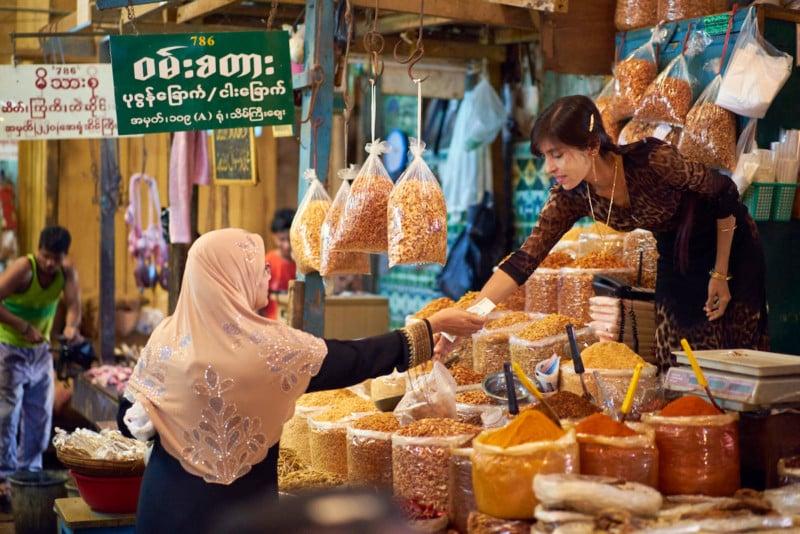 Travel Photography in Yangon, Myanmar