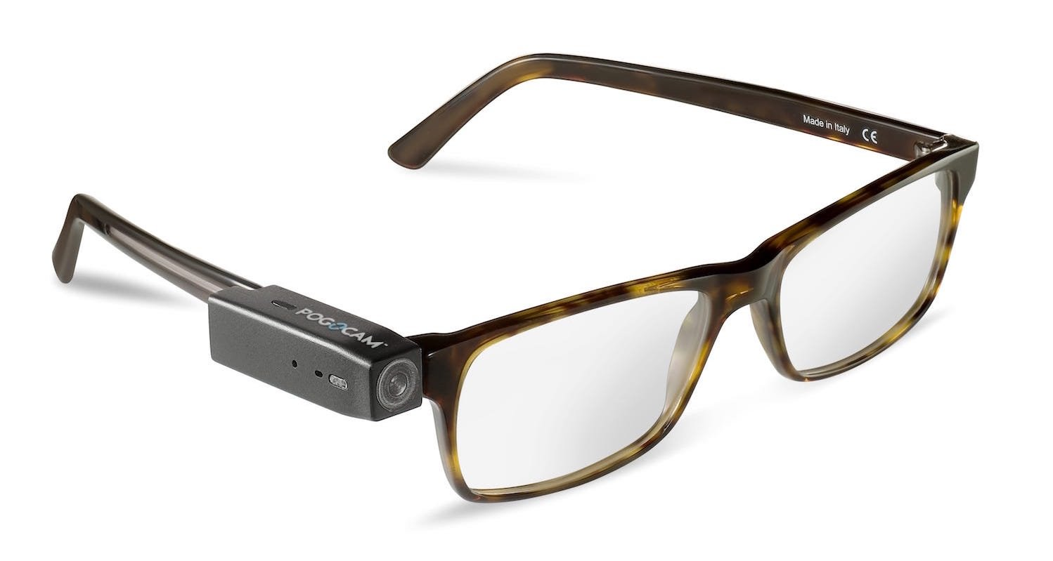 pogocam world s smallest wearable is coming to glasses near you