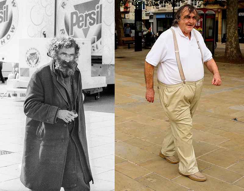 Photos recreated after 40 YEARS