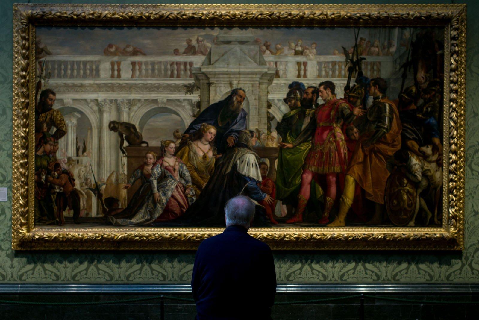 Paolo Veronese (1528-1588) - 'The Family of Darius before Alexander'