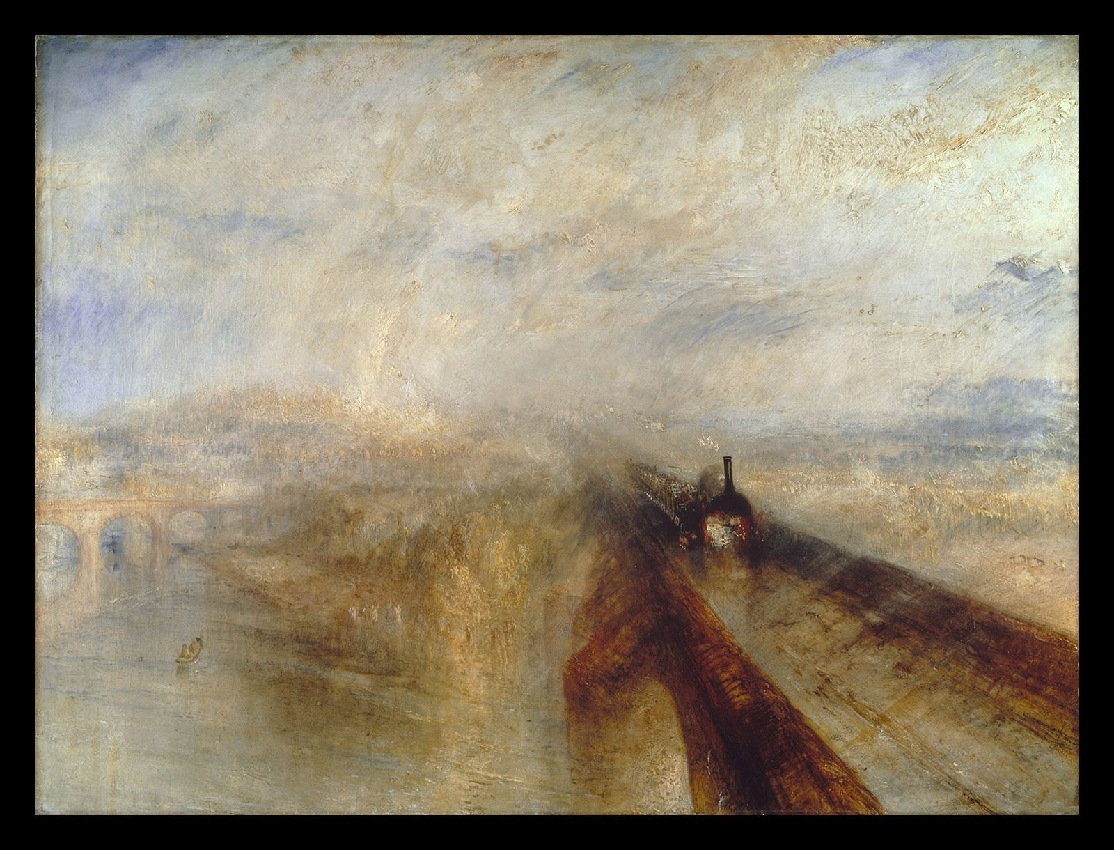 Joseph Turner 'Rain Steam and Speed' 1884
