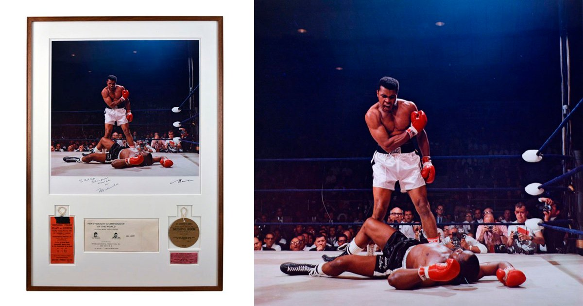 The Most Iconic Muhammad Ali Photo Ever Taken is Up for Auction