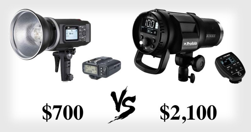 You Don't Get What You Pay For: $700 Godox AD600 vs $2,100 Profoto B1