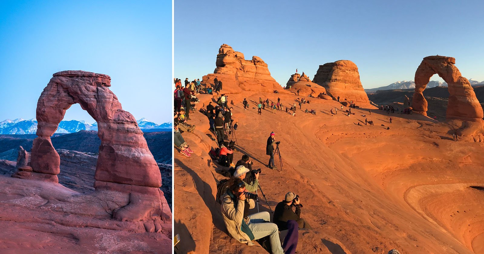 The Reality Behind Photos of National Park Landmarks