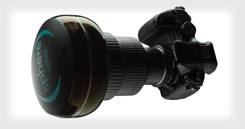 Sphere is a Lens That Turns Your DSLR Into a 360-Degree Camera