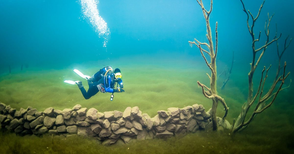 Image result for Lake Lygnstøylsvatnet diving