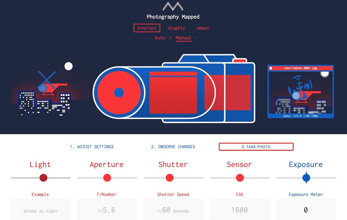 Simple Web Tool Teaches Beginners How to Use Manual Settings on a DSLR