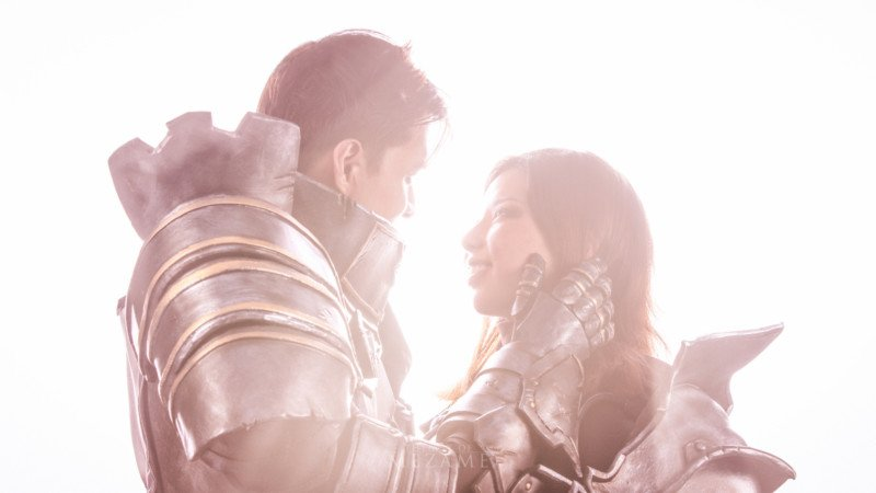 These Diablo-Themed Pre-Wedding Photos are a Cosplayer's Dream
