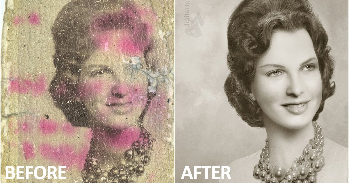 These Photo Restorations May Boggle Your Mind