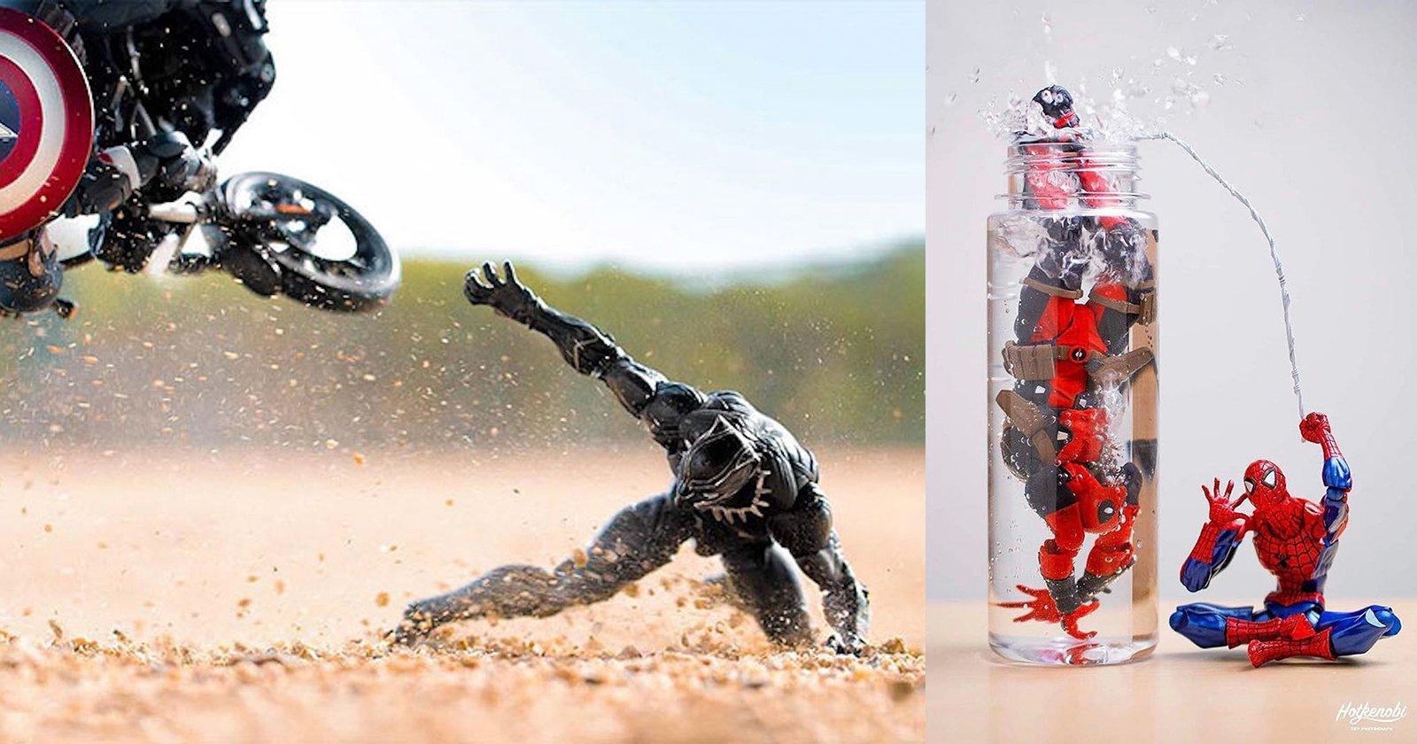 Creative Photographer Brings Action Figures to Life in Fun ... Panda 500