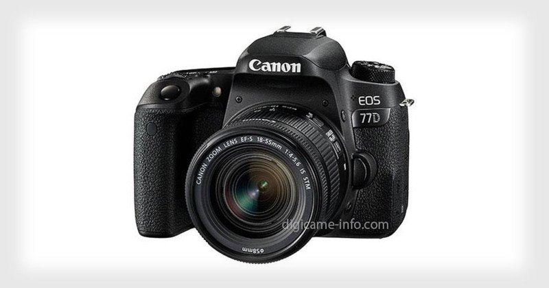 Canon 77D Photos and Specs Leaked