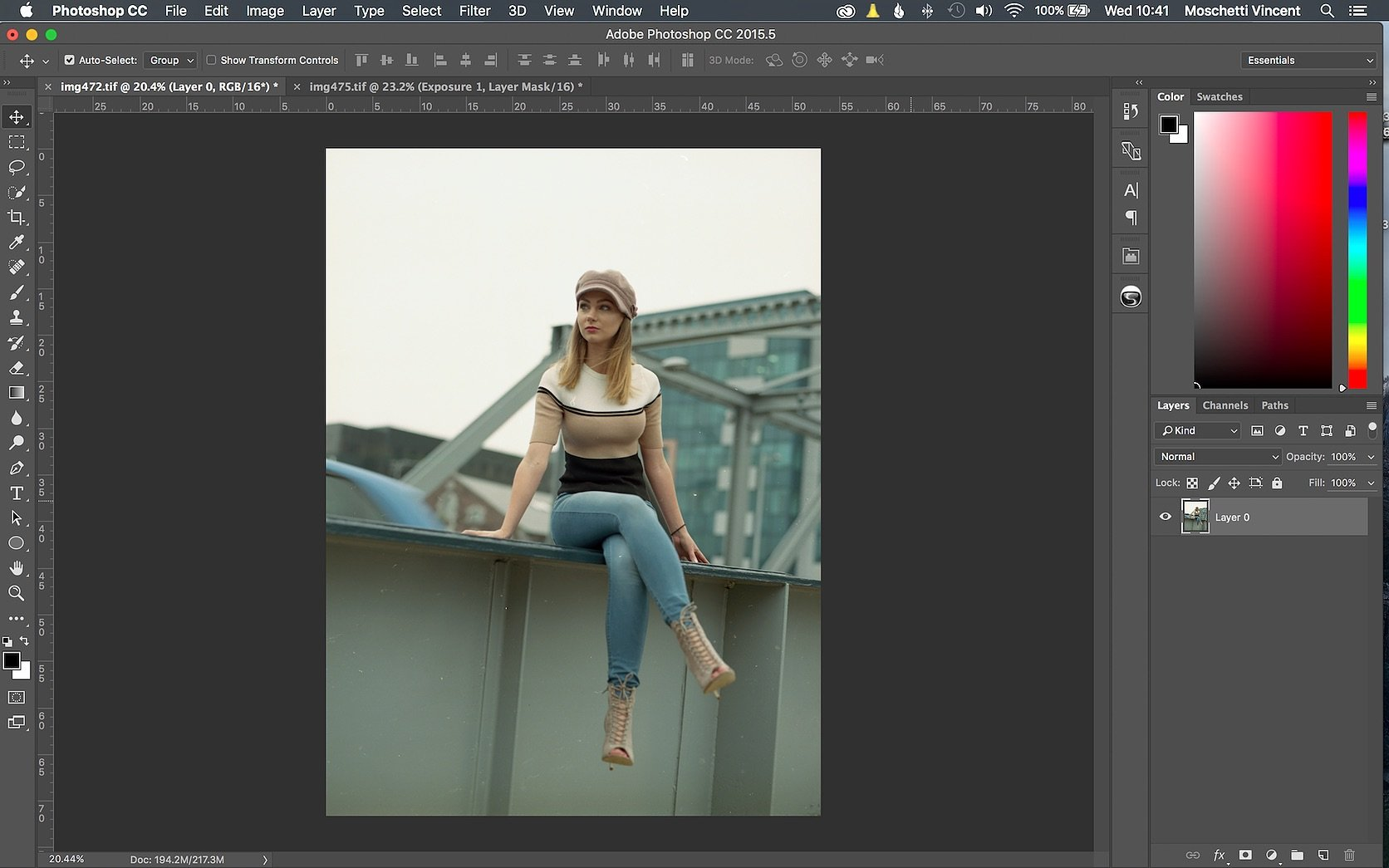 How To Edit Color Film Negatives in Photoshop