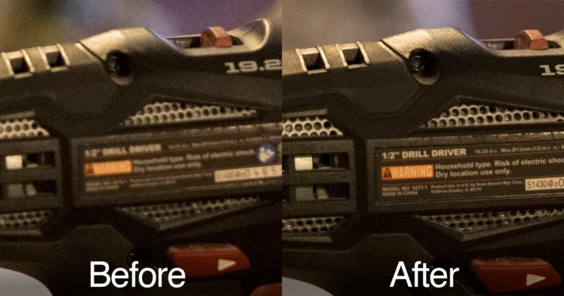 This is the Power of Sigma's $60 Lens Dock for Fixing Focus
