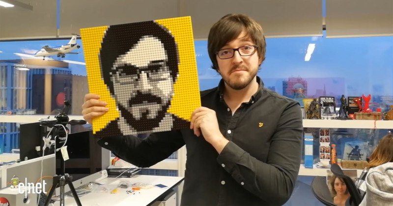 This Lego Photo Booth Helps You Build Your Portrait With Bricks