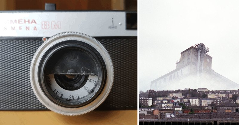 Shoot Creative Double Exposures by Cutting Out Half a Lens Cap