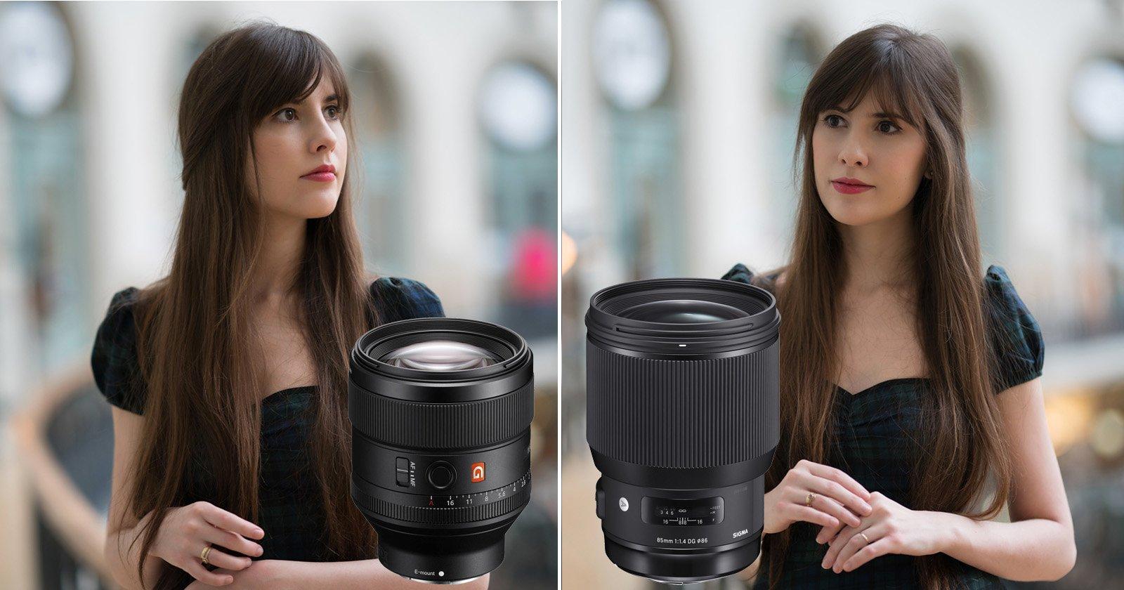 Sony 85mm Gm Vs Sigma Art Real World Comparison F 14 Ex Dg Hsm For Nikon
