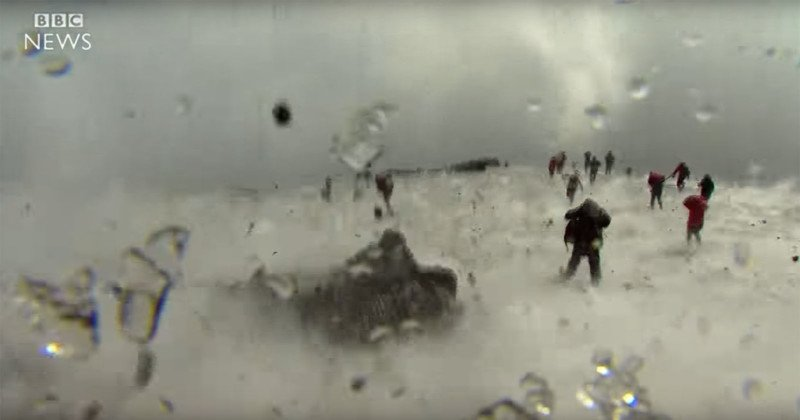 Video: BBC Camera Crew Gets Caught in Volcanic Eruption