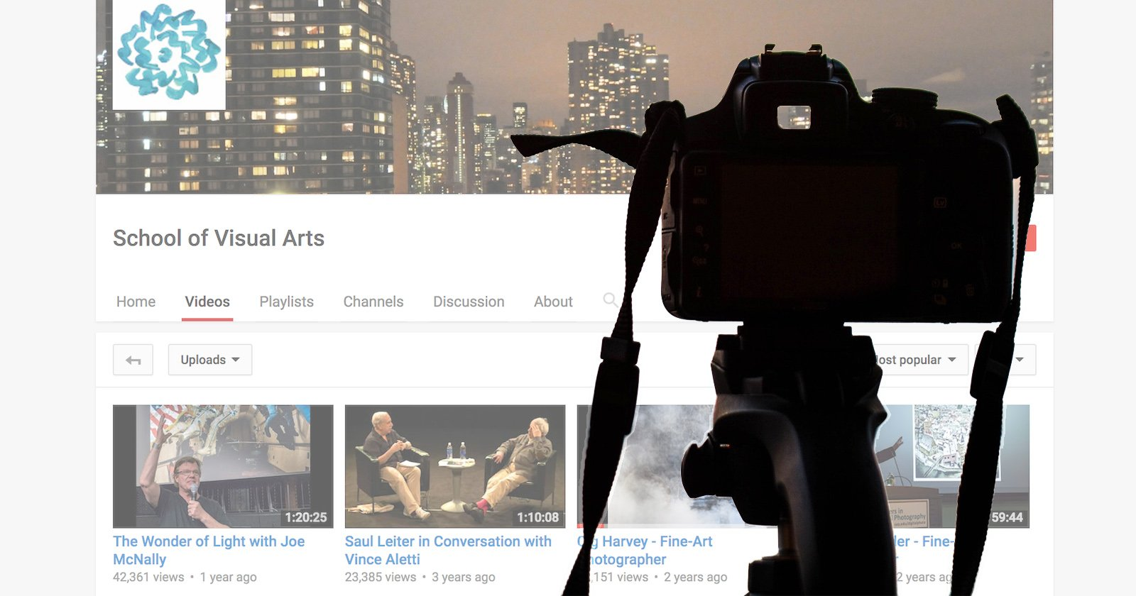 School of Visual Arts' YouTube Channel is Full of Amazing Photo Lectures