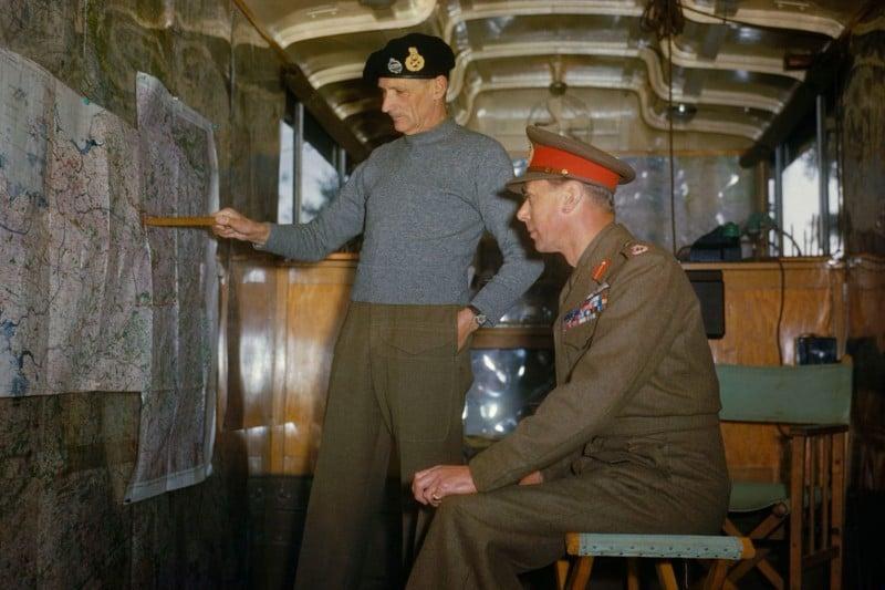 İkinci Dünya Savaşı'ndan kareler