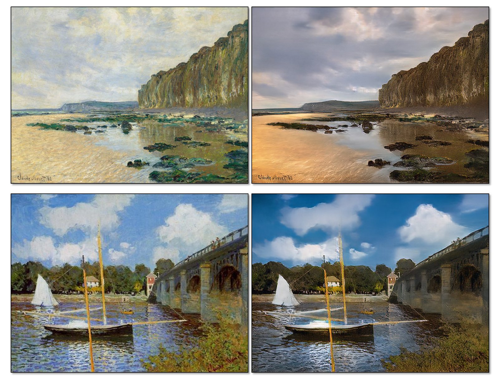 this ai can convert paintings into photos and summer into