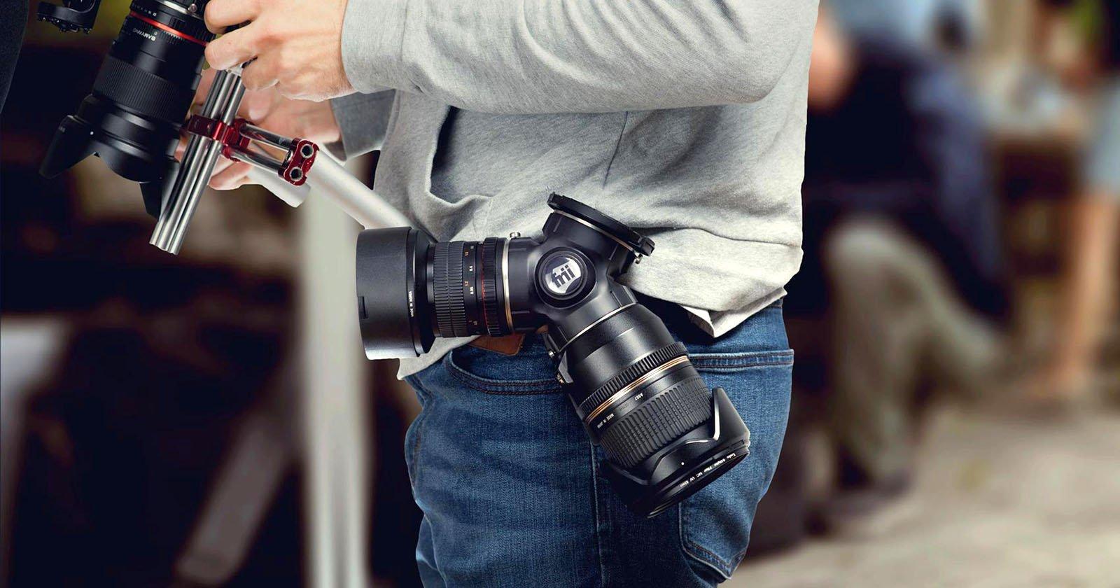 Trilens Is A Triple Lens Holder You Wear On Your Belt Peak Design Kit Nikon F Mount