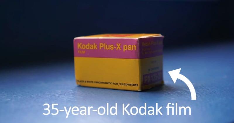 Shooting a 35-Year-Old Roll of Kodak Film