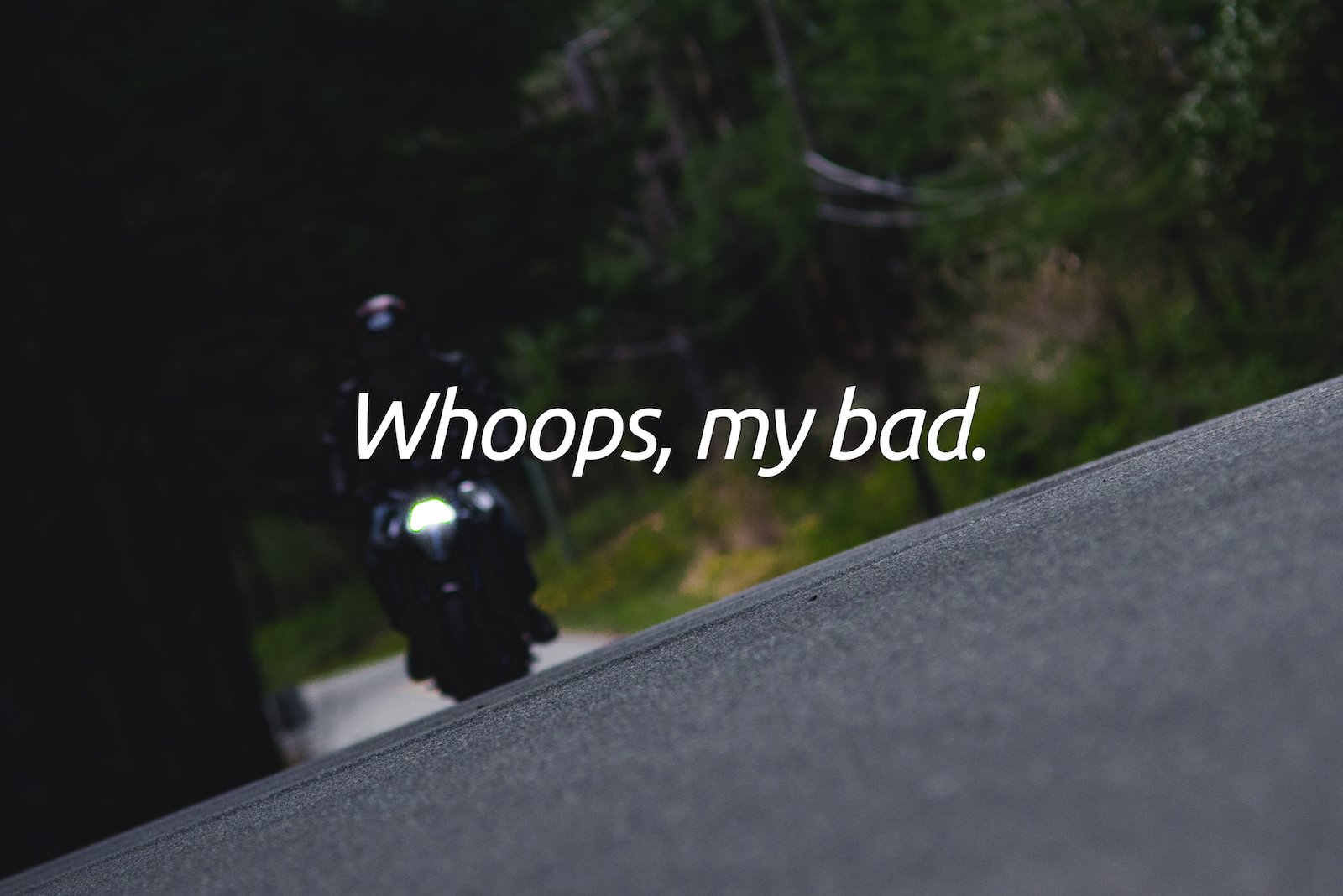 10 Lessons Learned from Botched Motorcycle Photo Shoots