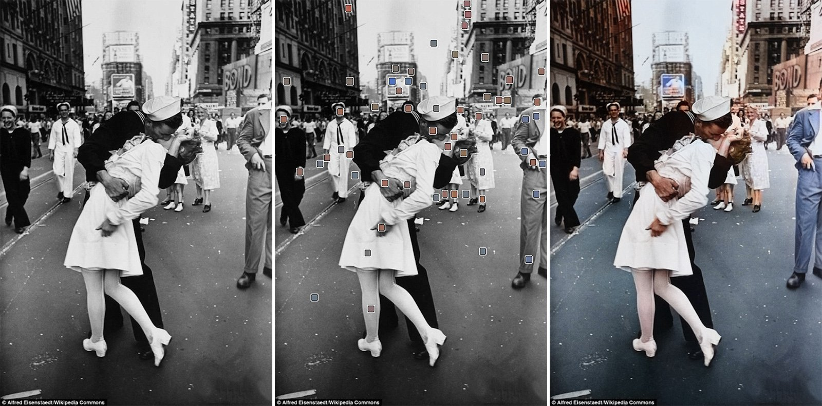 Ai Colorization Of Black And White Picture