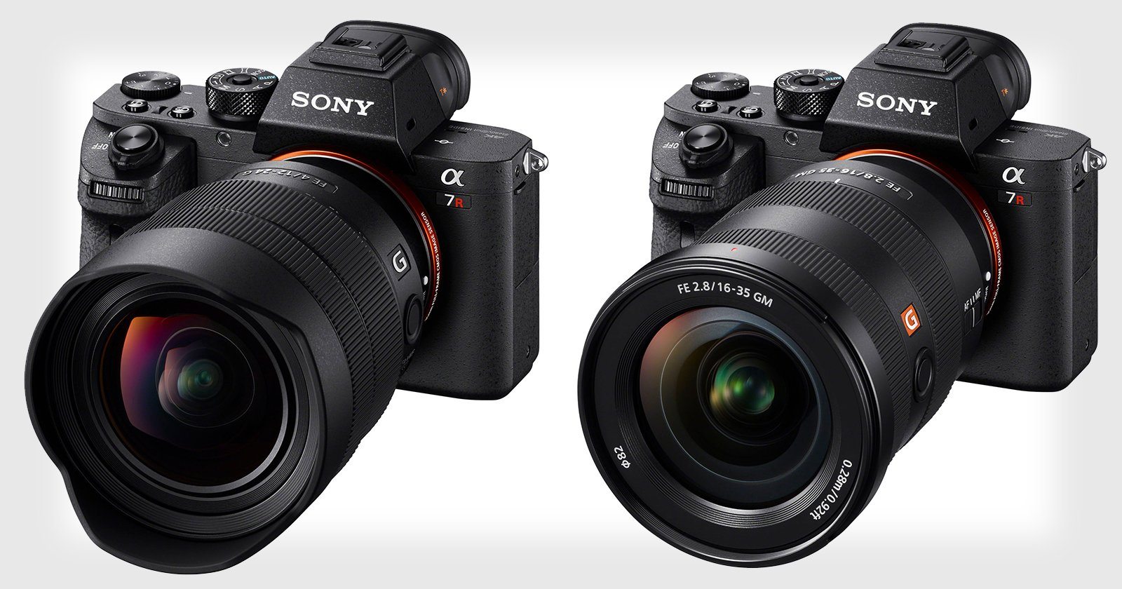 Sony Unveils 2 New Zoom Lenses: 12-24mm f/4 G  and 16-35mm f/2.8 GM