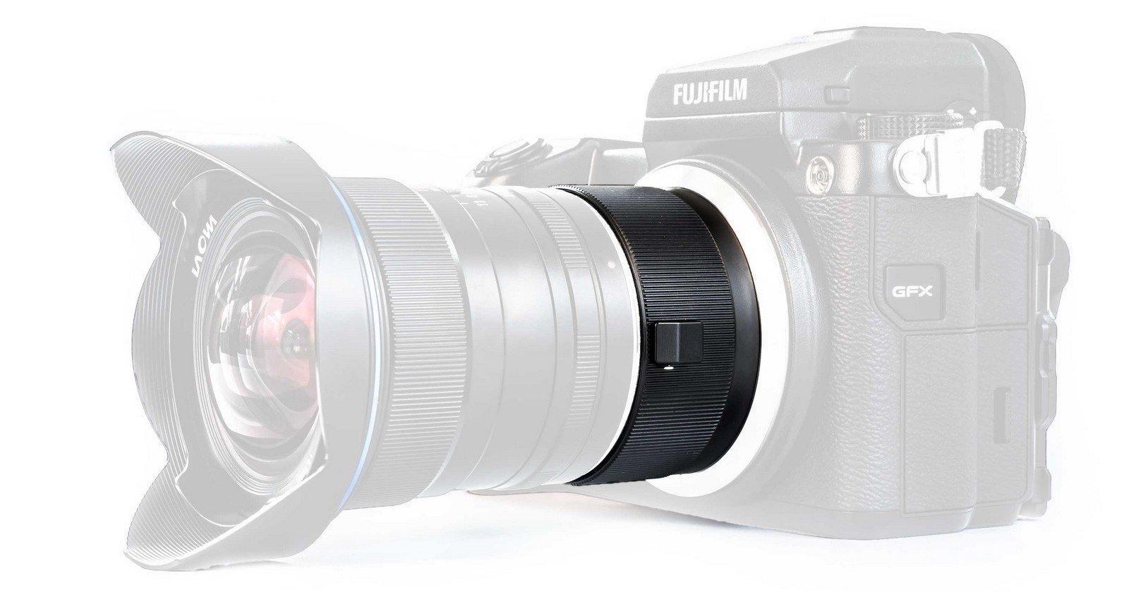 This Laowa Adapter Magnifies Full Frame Lenses for Fuji Medium Format