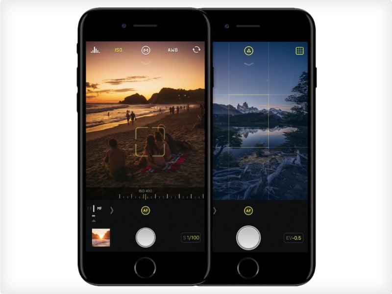 manual focus camera app